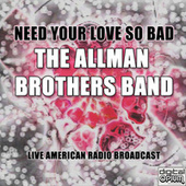 Need Your Love So Bad (Live) de The Allman Brothers Band