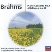 Brahms: Piano Concerto No.1 in D minor/4 Ballades, Op.10 de Arthur Rubinstein