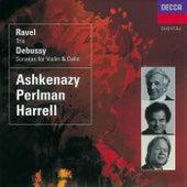 Debussy: Violin Sonata; Cello Sonata/Ravel: Piano Trio de Itzhak Perlman