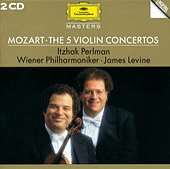 Mozart: The 5 Violin Concertos de Itzhak Perlman