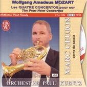 Wolfgang Amadeus Mozart: Les quatre concertos pour cor (The Four Horn Concertos) de Paul Kuentz