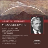 Beethoven: Missa solemnis in D Major, Op. 123 (Live) de Teresa Stich-Randall