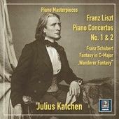Liszt: Piano Concertos Nos. 1 & 2 – Schubert: Fantasie in C Major, Op. 15, D. 760 von Julius Katchen