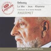 Debussy: La Mer; Prélude à l'après-midi d'un faune; Jeux, etc de L'Orchestre de la Suisse Romande