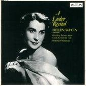 Helen Watts Recital de Helen Watts