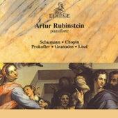 Artur Rubinstein: Schumann, Chopin, Prokofiev, Granados, Liszt de Artur Rubinstein