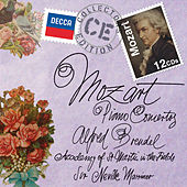 Mozart: The Piano Concertos by Alfred Brendel