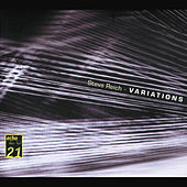 Reich: Variations; Music for Mallet Instruments; 6 Pianos de Various Artists