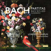 Bach: 6 Partitas, BWV 825-830 (Clavierübung I) von Lorenzo Ghielmi