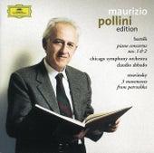 Stravinsky: 3 Dances from Petrushka / Bartók: Piano Concertos Nos.1 & 2 von Maurizio Pollini
