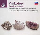Prokofiev: The Piano Concertos/Violin Concertos etc von Vladimir Ashkenazy