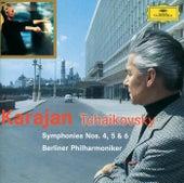 Tchaikovsky: Symphonies Nos.4, 5 & 6 by Berliner Philharmoniker