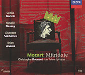Mozart: Mitridate, Re di Ponte von Natalie Dessay