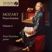 Mozart: Piano Sonatas, Vol. 4 by Peter Donohoe