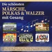 Die schönsten Märsche, Polkas und Walzer mit Gesang von Various Artists