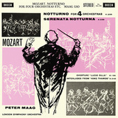 Mozart: Notturno; Serenata notturna; Thamos (The Peter Maag Edition - Volume 7) by Peter Maag
