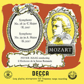 Mozart: Symphonies Nos. 28, 29 & 34 (The Peter Maag Edition - Volume 2) von Peter Maag