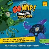 Folge 33: Das Wild Team in Seenot / Ein Wettlauf in der Gezeitenzone (Das Original-Hörspiel zur TV-Serie) von Go Wild! - Mission Wildnis