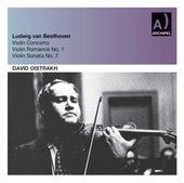 Beethoven: Violin Concerto in D Major, Op. 61 & Violin Sonata No. 7 in C Minor, Op. 30 No. 2 (Live) by David Oistrakh