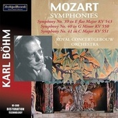 Mozart: Symphonies Nos. 39-41 by Karl Böhm