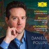 Schumann: Carnaval - Brahms: Klavierstücke op. 119 - Schoenberg: Klavierstücke opp. 11, 19, 23 fra Daniele Pollini