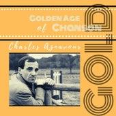 Golden Age of Chanson de Charles Aznavour