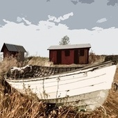 Old Fishing Boat by Bill Evans