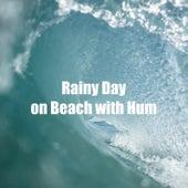 Rainy Day on Beach with Hum van Beach Sounds