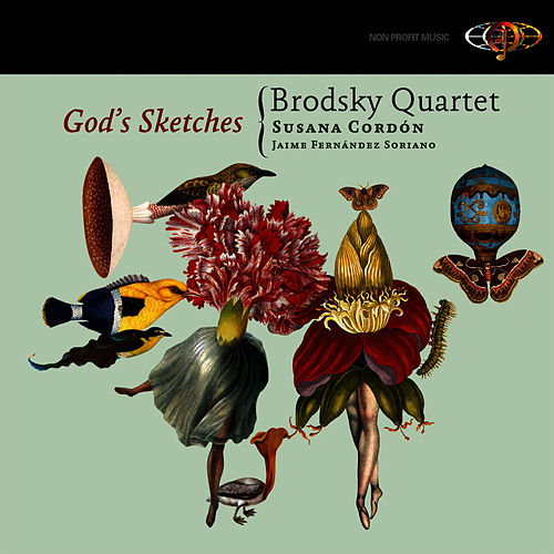 God's Sketches by Brodsky Quartet