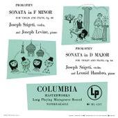 Prokofiev: Violin Sonatas No. 1, Op. 80 & No. 2, Op. 94bis by Joseph Szigeti