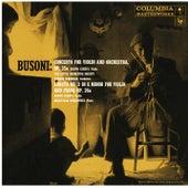 Busoni: Violin Concerto, Op. 35a & Violin Sonata No. 2, Op. 36a by Joseph Szigeti