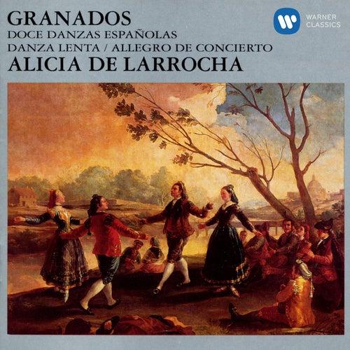 Doce Danzas Espanolas/Danza Lenta/Allegro De Conceierto by Alicia De Larrocha