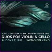 Duos for Violin & Cello by Rudens Turku