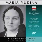 Mozart: Piano Works by Maria Yudina