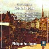 Mozart: Piano Concertos Nos. 20 & 23 & Piano Sonata No. 5 in G Major, K. 283 von Philippe Entremont