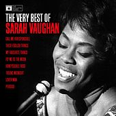 Sarah Vaughan - The Very Best Of by Sarah Vaughan