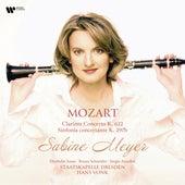 Mozart: Clarinet Concerto in A Major K622/Sinfonia concertante in E flat Major K297b von Sabine Meyer