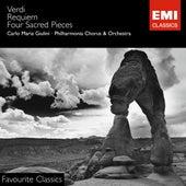 Verdi: Messa da Requiem/Four Sacred Pieces de Various Artists