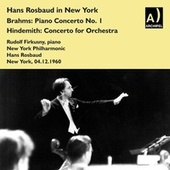 Hans Rosbaud live in New York with Rudolf Firkusny, Piano de Rudolf Firkusny