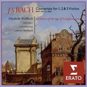 Bach: Violin Concertos von Elizabeth Wallfisch