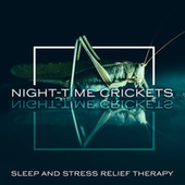 Night-time Crickets: Sleep and Stress Relief Therapy, Peaceful Music, Nature Sounds, Relaxing Piano, Guitar & Flute (Deep Sleep Music) by Eternal Sleeping Zone