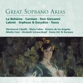 Great Soprano Arias von Various Artists