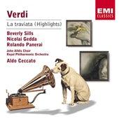 Verdi: La Traviata (Highlights) de Aldo Ceccato