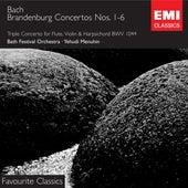 Bach: Brandenburg Concertos von Yehudi Menuhin