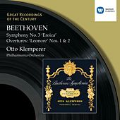 Beethoven : Symphony No.3 'Eroica' - Overtures: 'Leonore' Nos.1 & 2 by Otto Klemperer