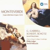 Monteverdi/G. Gabrieli/Scheidt/Schütz de Various Artists