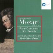 Mozart: Piano Concertos Nos 20 & 24 by Daniel Barenboim