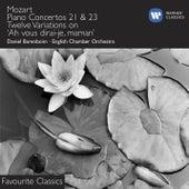 Mozart: Piano Concertos Nos. 21 & 23 by Daniel Barenboim