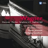 Wagner: Overtures - Marches - Symphony in E - Siegfried Idyll von Wolfgang Sawallisch