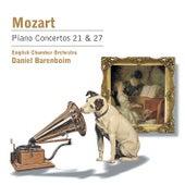 Mozart, W.A.: Klavierkonzerte Nr. 21 & 27 by Daniel Barenboim